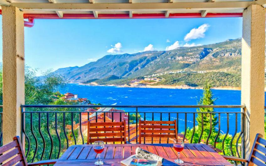 Antalya Kaş'ta Kiralık Villa ID:104 (2)