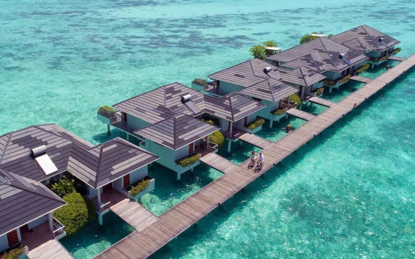 Maldivler'de Kiralık Su Üzeri Villa ID:99 (20)